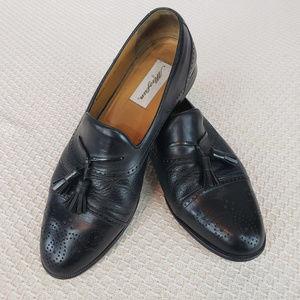 Mezlan Mens 11M Shoes Havana Cap Toe Brogue Tassle